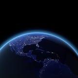 Κεντρική Αμερική διανυσματική απεικόνιση