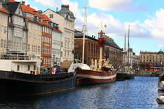 Κεντρική αποβάθρα πόλεων Στοκ εικόνα με δικαίωμα ελεύθερης χρήσης