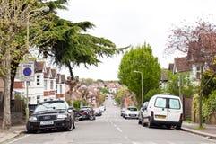 Κεντρική γειτονιά του Χέντον στο Λονδίνο στοκ φωτογραφία