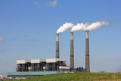 κεντρική ενέργεια jefferson Στοκ Φωτογραφίες