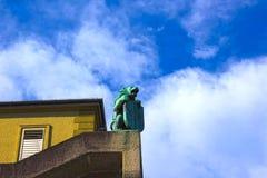 Κεντρική θέση στην πόλη του Σάλτζμπουργκ Στοκ Εικόνες