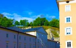 Κεντρική θέση στην πόλη του Σάλτζμπουργκ Στοκ Φωτογραφίες