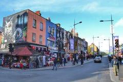 Κεντρική οδός Λονδίνο του Κάμντεν Στοκ Εικόνες