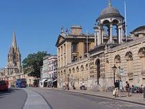 Κεντρική οδός της Οξφόρδης Στοκ φωτογραφία με δικαίωμα ελεύθερης χρήσης