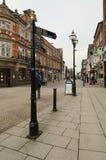 Κεντρική οδός Stafford, οδός Greengate Στοκ εικόνα με δικαίωμα ελεύθερης χρήσης