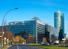Κεντρική περιοχή businees του Βερολίνου Στοκ Εικόνες