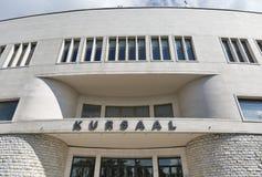 Κεντρική πρόσοψη συνεδρίων Kursaal στον Άγιο Μαρίνο Στοκ Εικόνες