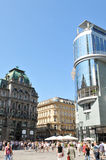 κεντρική πόλη Βιέννη Στοκ Εικόνες