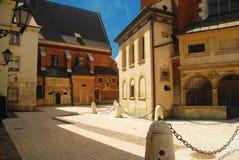 κεντρική πόλη Κρακοβία πα&lamb στοκ εικόνα με δικαίωμα ελεύθερης χρήσης