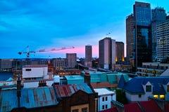 κεντρική πόλη Μελβούρνη Στοκ φωτογραφίες με δικαίωμα ελεύθερης χρήσης