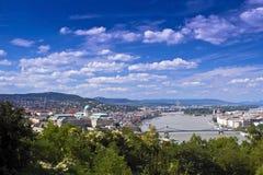 κεντρική πόλη της Βουδαπέ&si στοκ εικόνα