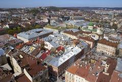 κεντρική πόλη Στοκ Φωτογραφία