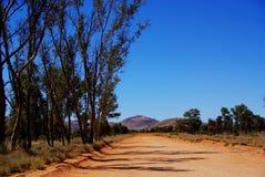 Κεντρική σκηνή ερήμων της Αυστραλίας Στοκ Εικόνες