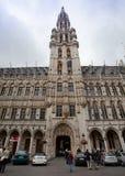 Κεντρική τετραγωνική μεγάλη θέση Βρυξέλλες στοκ εικόνα με δικαίωμα ελεύθερης χρήσης
