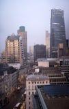 Κεντρικοί ουρανοξύστες του Λονδίνου Στοκ Εικόνες