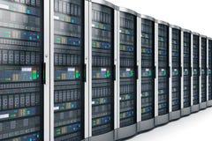κεντρικοί υπολογιστές σειρών κεντρικών δικτύων δεδομένων ελεύθερη απεικόνιση δικαιώματος