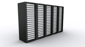 κεντρικοί υπολογιστές σειρών ραφιών διανυσματική απεικόνιση