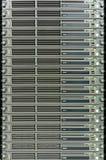 Κεντρικοί υπολογιστές σε ένα datacenter Στοκ Φωτογραφίες