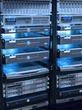 κεντρικοί υπολογιστές Στοκ φωτογραφία με δικαίωμα ελεύθερης χρήσης