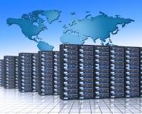 κεντρικοί υπολογιστές Στοκ Εικόνες