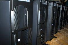 κεντρικοί υπολογιστές Στοκ Εικόνα