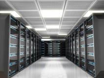 Κεντρικοί υπολογιστές δικτύων Στοκ εικόνα με δικαίωμα ελεύθερης χρήσης