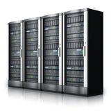 κεντρικοί υπολογιστές σειρών κεντρικών δικτύων δεδομένων διανυσματική απεικόνιση