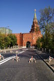 κεντρικός αγωγός του Κρεμλίνου πυλών Στοκ Φωτογραφίες