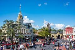 Κεντρικός δρόμος ΗΠΑ στο μαγικό βασίλειο, κόσμος Walt Disney Στοκ φωτογραφία με δικαίωμα ελεύθερης χρήσης