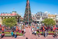Κεντρικός δρόμος ΗΠΑ στο μαγικό βασίλειο, κόσμος Walt Disney Στοκ Φωτογραφία