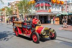 Κεντρικός δρόμος ΗΠΑ Disneyland ` s στο Αναχάιμ, Καλιφόρνια Στοκ Εικόνες
