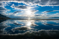 Κεντρικός ηλιακός δίσκος συλλογής Στοκ Εικόνα