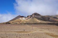 Κεντρικός κρατήρας Tongariro στοκ φωτογραφία