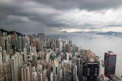 Κεντρικός κόλπος νησιών Χονγκ Κονγκ, Κίνα στοκ εικόνες