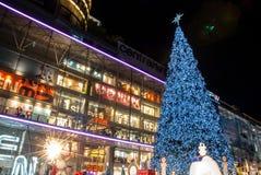 Κεντρικός κόσμος, Μπανγκόκ, Ταϊλάνδη Στοκ φωτογραφία με δικαίωμα ελεύθερης χρήσης