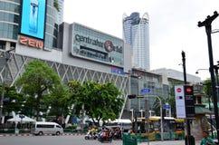 Κεντρικός κόσμος στη Μπανγκόκ, Ταϊλάνδη Στοκ Φωτογραφία
