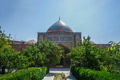 Κεντρικός μπλε θόλος μουσουλμανικών τεμενών Jerevan στοκ εικόνες με δικαίωμα ελεύθερης χρήσης