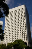 Κεντρικός οικονομικός ουρανοξύστης κεντρικών οριζόντων Χονγκ Κονγκ κυβερνητικών γραφείων οικοδόμησης Murray Στοκ φωτογραφία με δικαίωμα ελεύθερης χρήσης