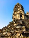 Κεντρικός πύργος σε Angkor Wat Στοκ Εικόνες