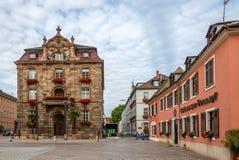 Κεντρικός δρόμος σε Speyer Στοκ φωτογραφίες με δικαίωμα ελεύθερης χρήσης