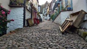 Κεντρικός δρόμος Clovelly στοκ εικόνες