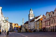 Κεντρικός σε Trebon, Δημοκρατία της Τσεχίας στοκ φωτογραφίες