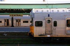 κεντρικός σιδηροδρομικ Στοκ Φωτογραφίες