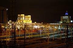 Κεντρικός σιδηροδρομικός σταθμός του Μινσκ Στοκ φωτογραφία με δικαίωμα ελεύθερης χρήσης