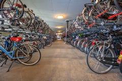 Κεντρικός σταθμός γκαράζ χώρων στάθμευσης κύκλων Στοκ φωτογραφία με δικαίωμα ελεύθερης χρήσης