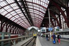 Κεντρικός σταθμός της Αμβέρσας, Βέλγιο Στοκ Φωτογραφία