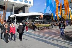 Κεντρικός σταθμός της Ουτρέχτης, Ολλανδία Στοκ φωτογραφία με δικαίωμα ελεύθερης χρήσης
