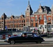 Κεντρικός σταθμός του Άμστερνταμ Στοκ Φωτογραφίες