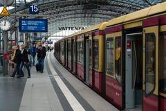 Κεντρικός σταθμός του Βερολίνου Στοκ Εικόνες