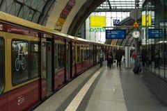 Κεντρικός σταθμός του Βερολίνου Στοκ φωτογραφία με δικαίωμα ελεύθερης χρήσης